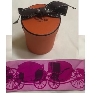 Hermès Twilly Carriages in Pinks